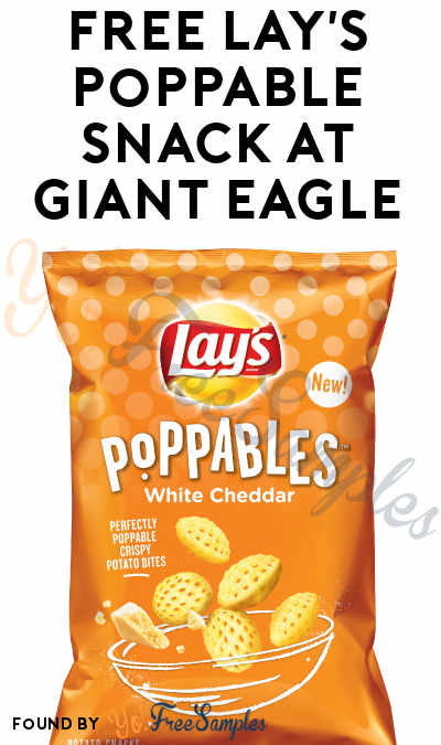 FREE Lay's Poppable Snack At Giant Eagle (eAdvantage Card Required)