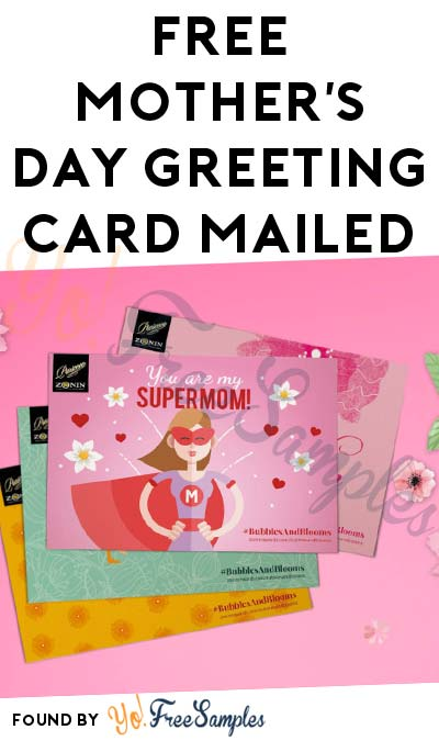 FREE Mother's Day Greeting Card Mailed (Facebook Required) [Verified Received By Mail]