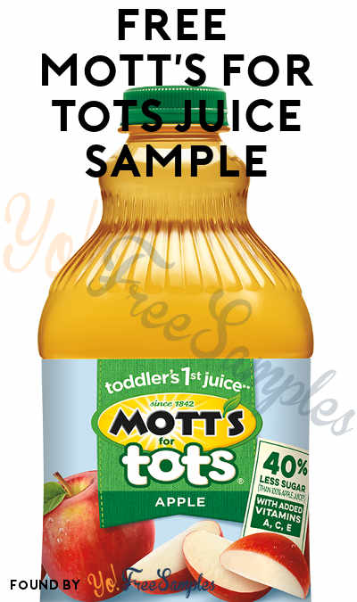 Possible FREE Mott's for Tots Juice (Smiley360)