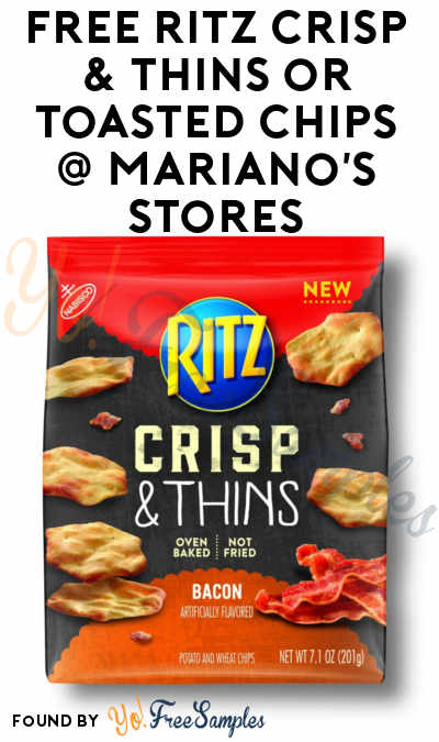 TODAY ONLY: FREE Ritz Crisp & Thins or Toasted Chips At Mariano's Stores (IL Only)