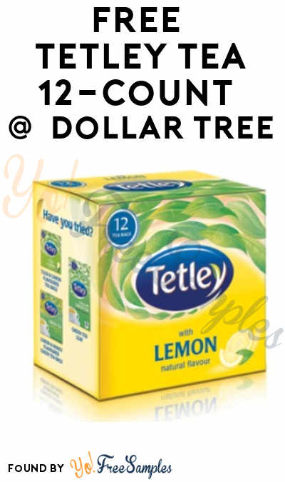 FREE Tetley Tea 12-Count At Dollar Tree (Coupon Required)