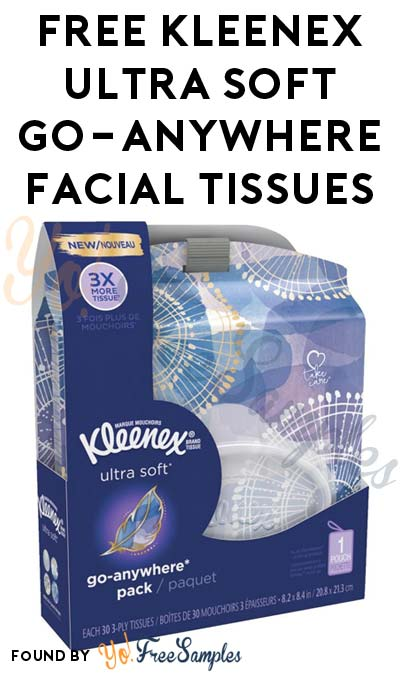 FREE Kleenex Ultra Soft Go-Anywhere Tissues & More (Apply To HouseParty.com)