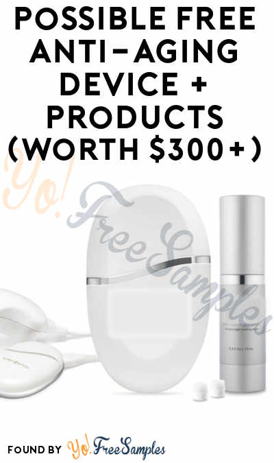 Possible FREE Anti-Aging Device + Products (Worth $300+, Women 45-75 Only & Surveys Required)