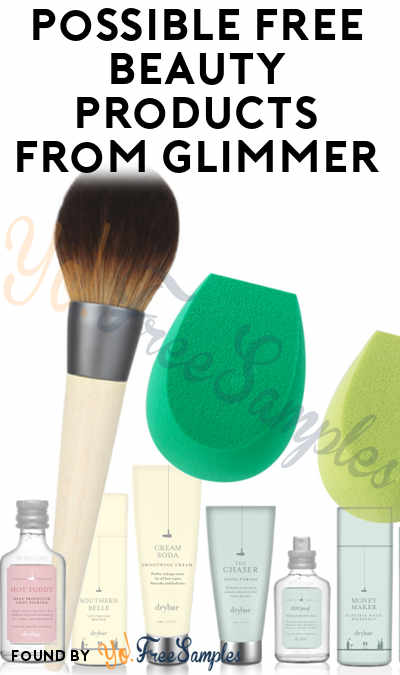 Possible FREE Beauty Products From Glimmer & Chance To Win EcoTools & DryBar Products (Smiley360 Powered)