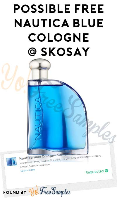 Possible FREE Nautica Blue Cologne Sample From Skosay's Simply Sample Program (Cell # Required)