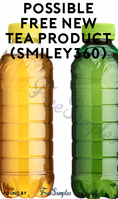 Possible FREE New Tea Product (Smiley360)