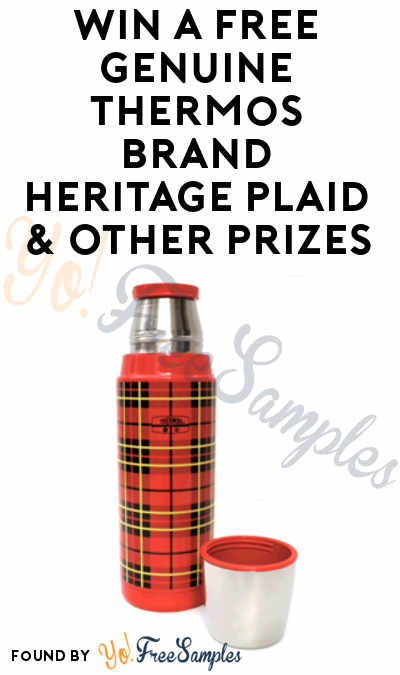 Win A FREE Genuine Thermos Brand Heritage Plaid & Other Prizes (Facebook Required)