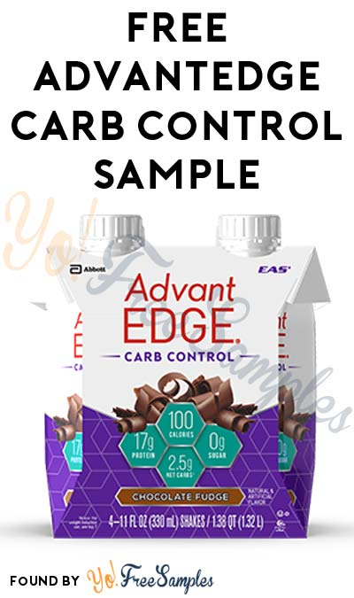 FREE AdvantEDGE Carb Control (Facebook Required) [Verified Received By Mail]