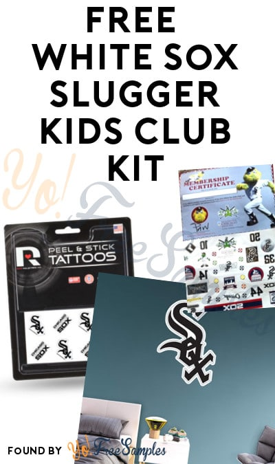 FREE 2017 White Sox Slugger Kids Club Kit