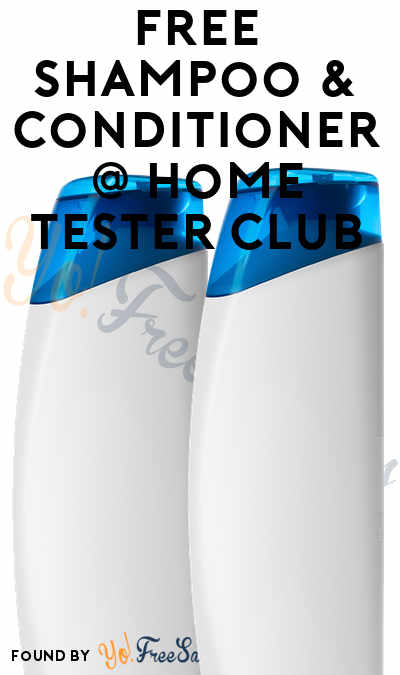 FREE Johnson & Johnson Shampoo + Conditioner From Home Tester Club (Survey Required)