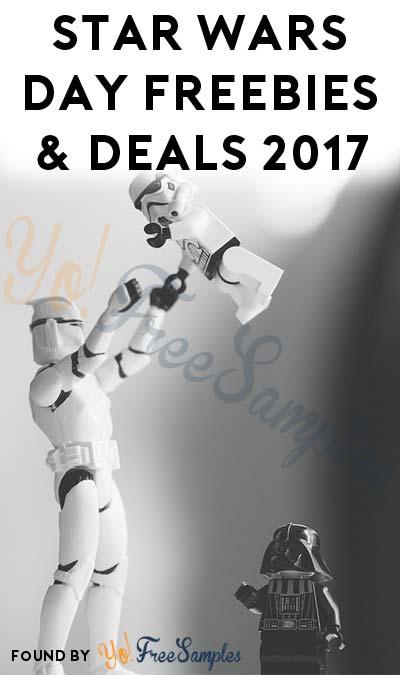 17 Star Wars Day Freebies & Deals 2017