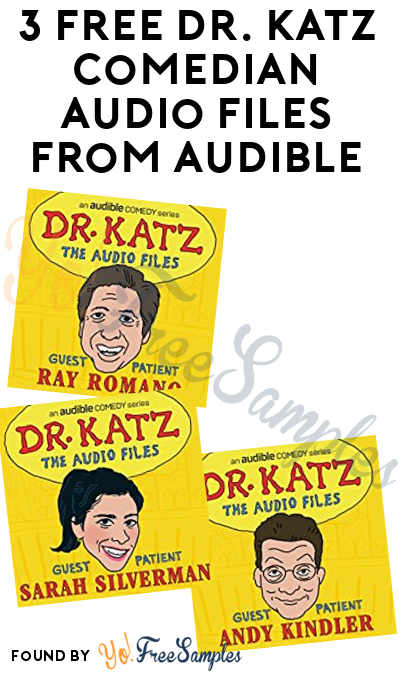 3 FREE Dr. Katz Comedian Audio Files From Audible