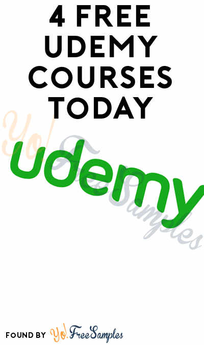 4 FREE Udemy Courses For June 13th 2017