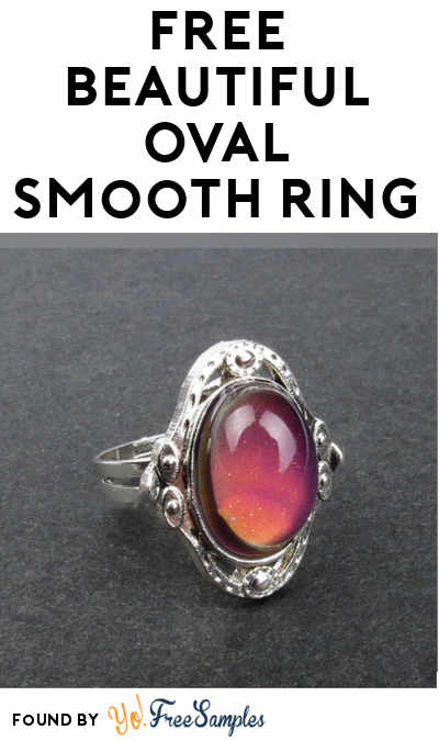 FREE Beautiful Oval Smooth Ring From Solocost (Review Required)