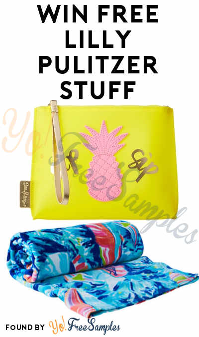 Enter Daily: Win FREE Lilly Pulitzer Beach Towel, Jelly Wristlet Pouch & Other Prizes