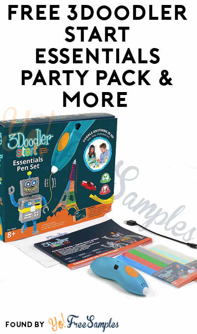 FREE 3Doodler Start Essentials Party Pack or  3Doodler Create Party Pack & More (Must Apply To Host Tryazon Party)