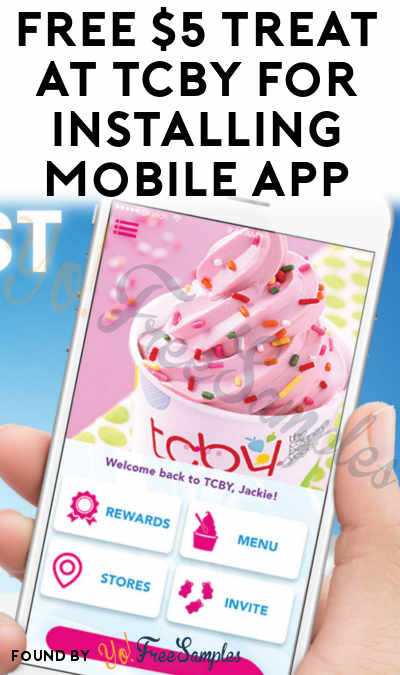 FREE $5 Treat At TCBY For Installing Mobile App