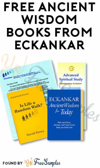 FREE Ancient Wisdom Books From Eckankar [Verified Received By Mail]