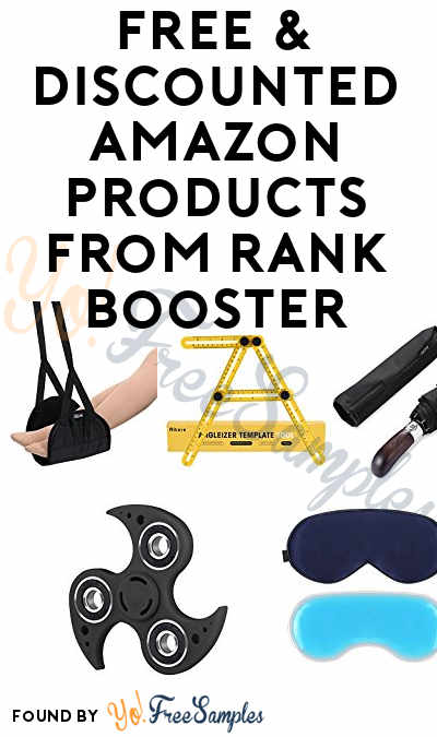 Nearly FREE & Discounted Amazon Products From Rank Booster
