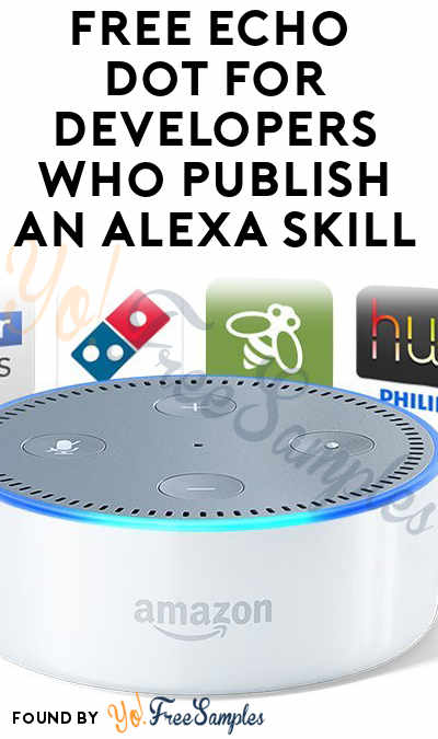FREE Echo Dot For Developers Who Publish An Alexa Skill