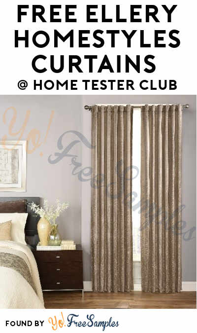 FREE Ellery Homestyles Curtains From Home Tester Club (Survey Required)