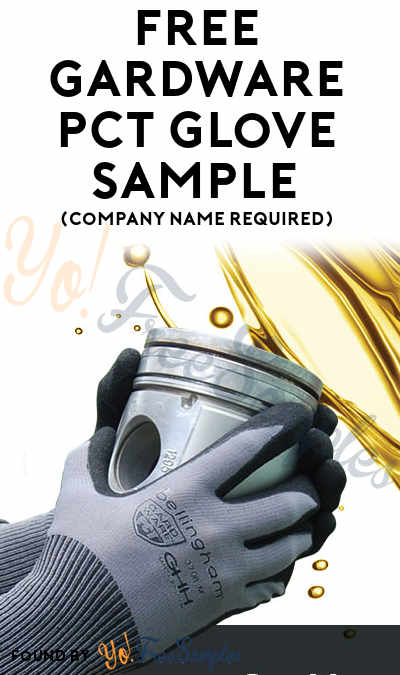 FREE Gardware PCT Glove Sample (Company Name Required)