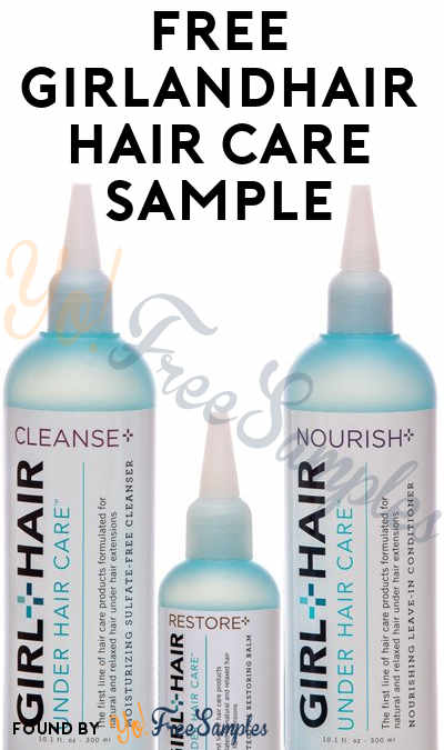 FREE GirlandHair Hair Care Sample (Email Confirmation Required)