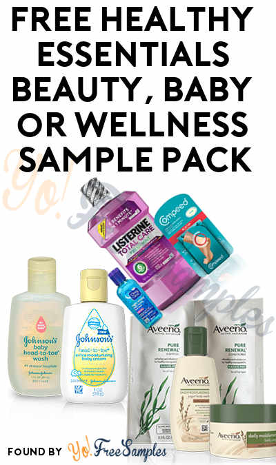 FREE Healthy Essentials Beauty, Baby or Wellness Sample Pack