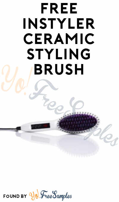 FREE InStyler Ceramic Styling Brush From ViewPoints (Survey Required)