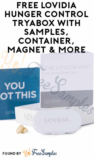 Free lovidia hunger control tryabox with samples container magnet free lovidia hunger control tryabox with samples container magnet more must apply fandeluxe Images