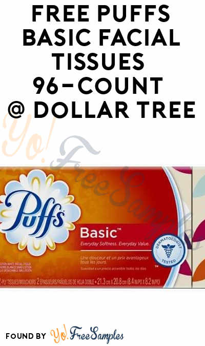 FREE Puffs Basic Facial Tissues 96-Count At Dollar Tree (Checkout51 & Coupon Required)