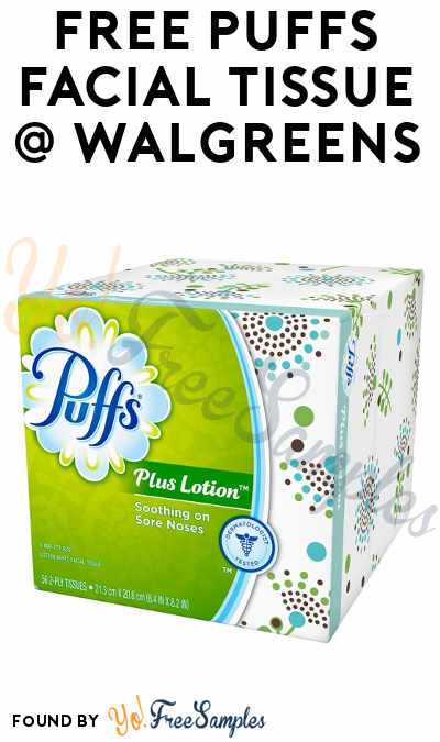 FREE Puffs Facial Tissue At Walgreens (Coupon & Checkout51 Required)