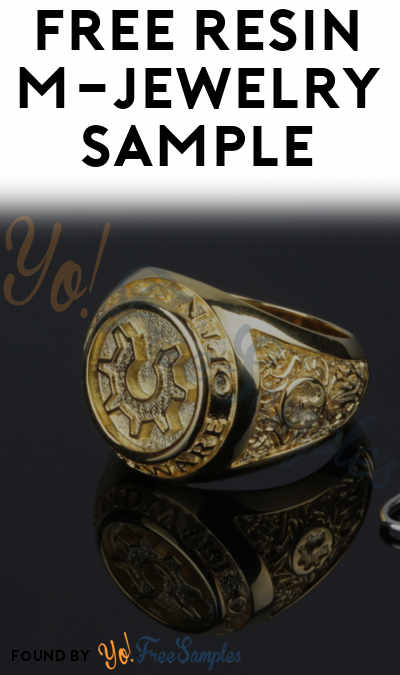 Shipping Costs Discovered: FREE Resin M-Jewelry Sample (Company Information Required)