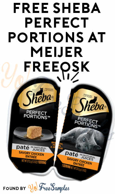 FREE Sheba Perfect Portions At Meijer Freeosk