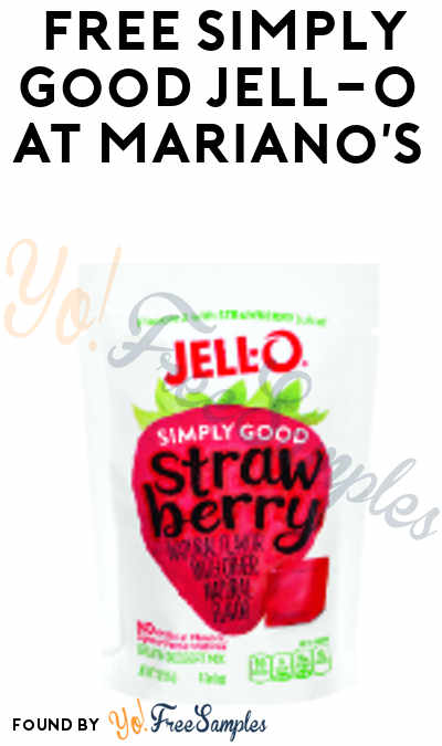 TODAY ONLY: FREE Simply Good Jell-O At Mariano's Stores (IL Only)