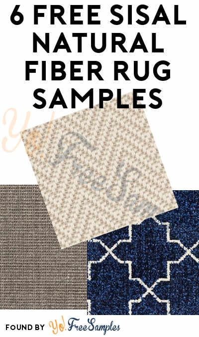 FREE Sisal Rug Samples