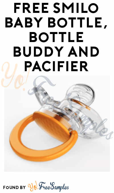 FREE Smilo Baby Bottle, Bottle Buddy and Pacifier From ViewPoints (Survey Required)