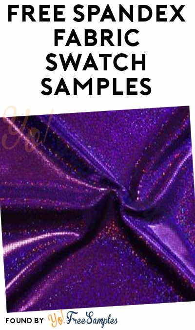 FREE Spandex Fabric Swatch Samples