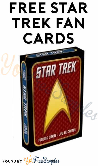 FREE Star Trek Fan Cards