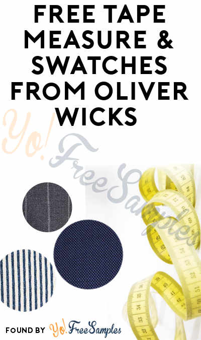 FREE Tape Measure & Swatches From Oliver Wicks
