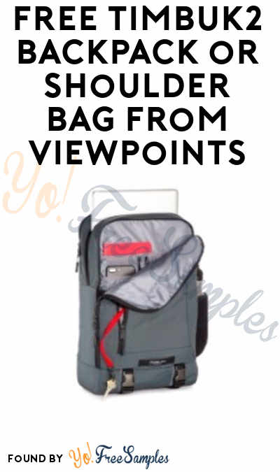 FREE Timbuk2 Backpack or Shoulder Bag From ViewPoints (Survey Required)