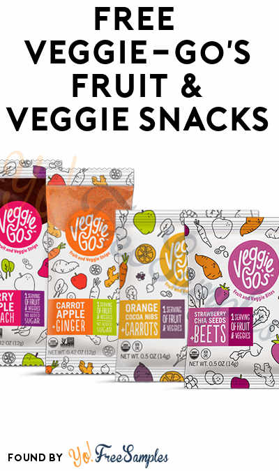 FREE Veggie-Go's Fruit & Veggie Snacks (Mom Ambassador Membership Required)