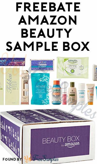 FREEBATE Beauty Sample Box For Amazon Prime Members - Yo! Free Samples