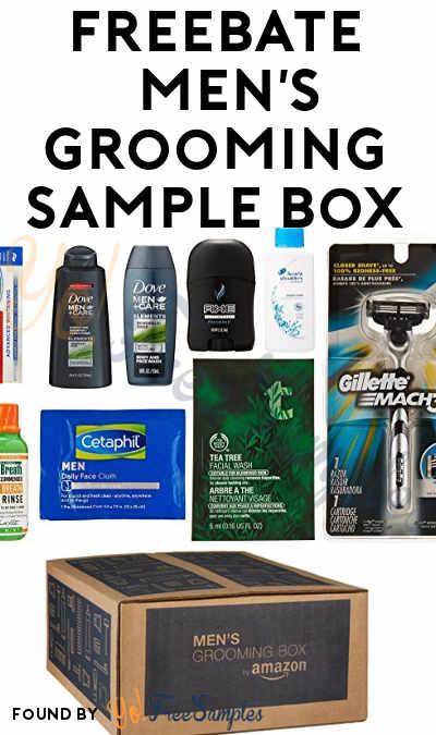 FREEBATE Men's Grooming Sample Box For Amazon Prime Members