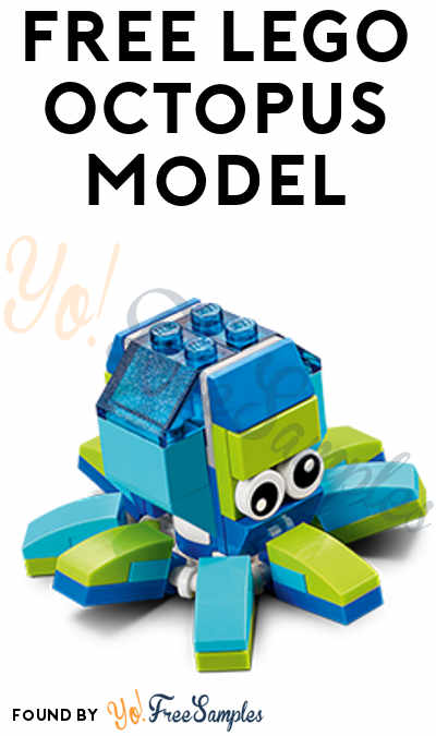 Registration Open: FREE LEGO Octopus Model From Mini Model Build Event July 11th & July 12th