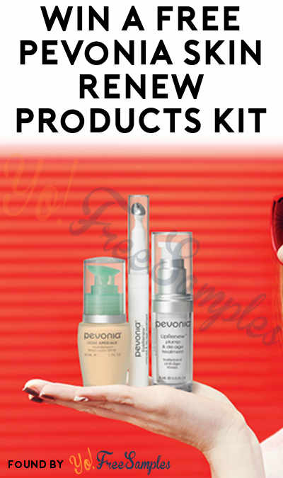 Possible FREE Pevonia Skin YouthRenew, EyeRenew & LipRenew Products Kit (Email Confirmation Required)