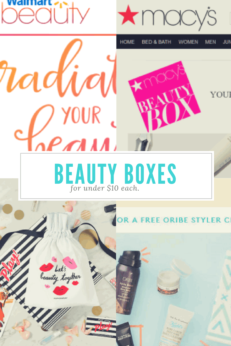 Beauty Box Subscriptions for $10
