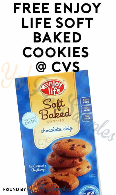2 FREE Enjoy Life Soft Baked Cookies + Small Profit At CVS (Coupon, Ibotta & MobiSave Required)