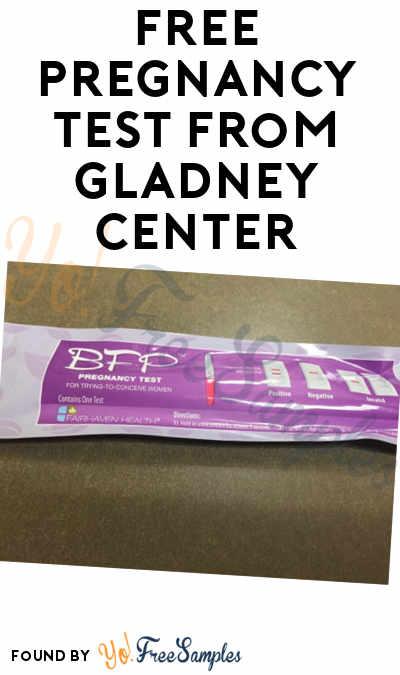 FREE Pregnancy Test From Gladney Center - Yo! Free Samples