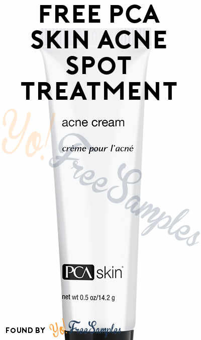 FREE PCA SKIN Acne Spot Treatment (Survey Required) [Verified ...